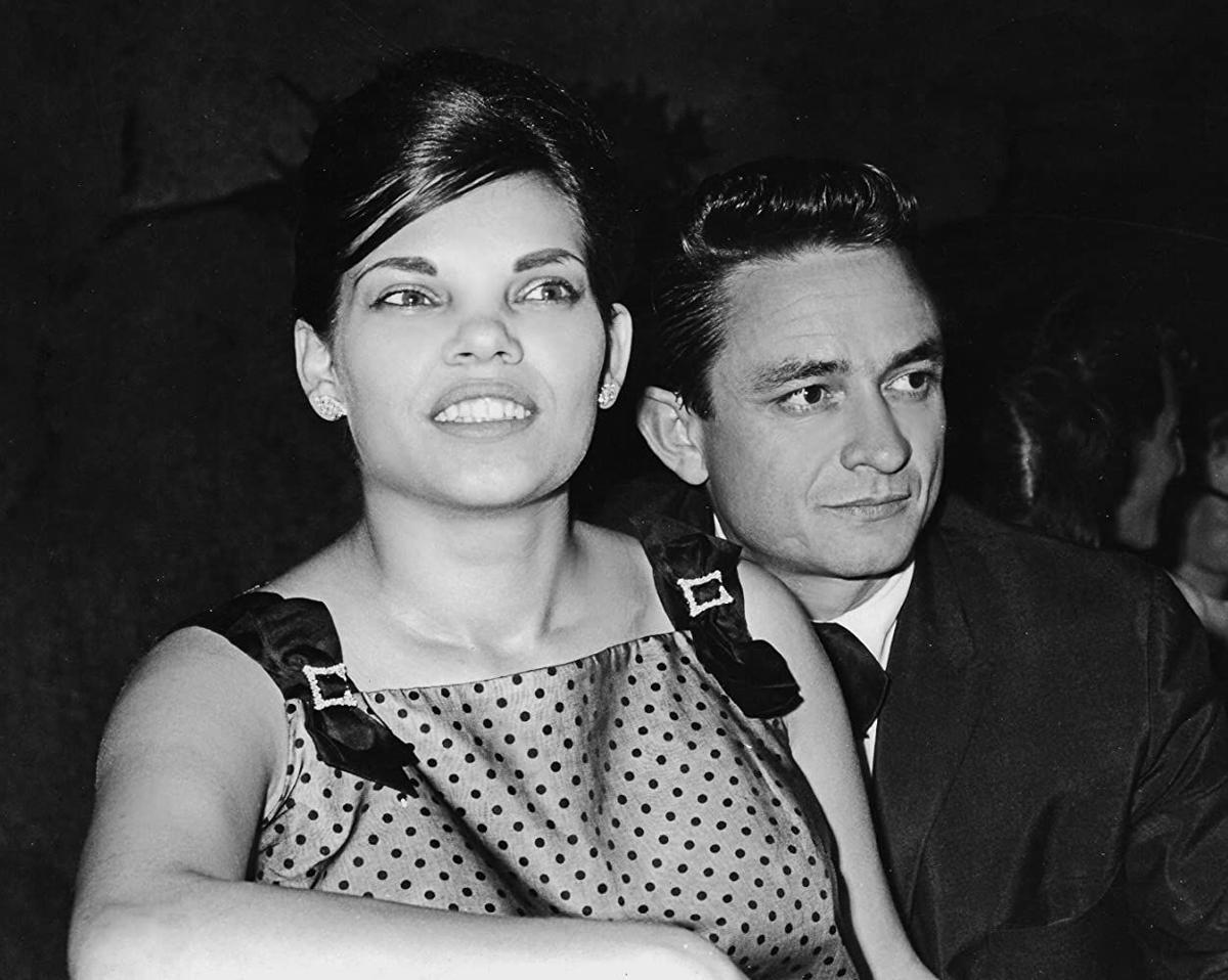 Vivian and Johnny Cash
