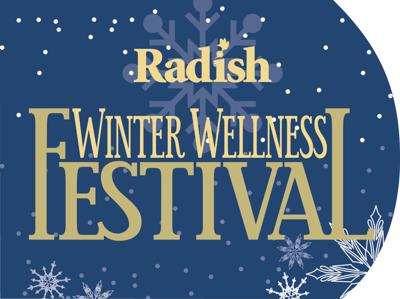 Radish Winter Wellness Festival logo