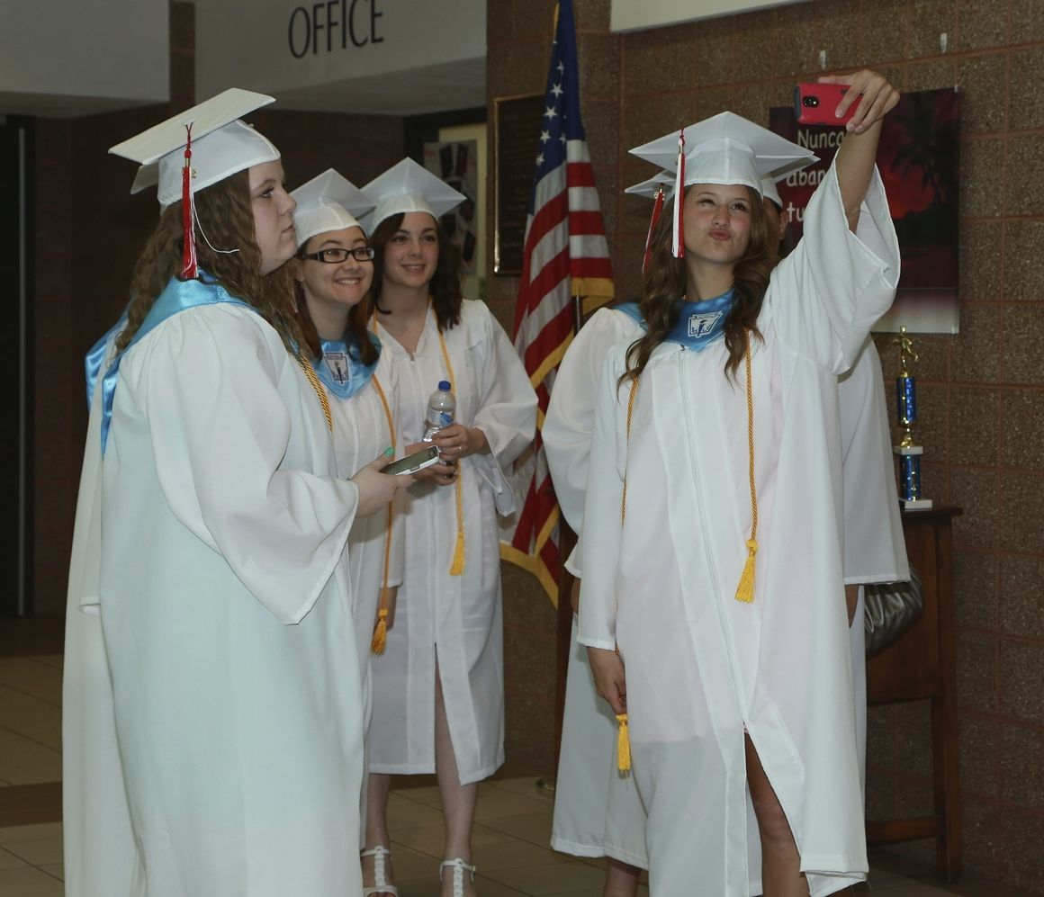 Graduates bid farewell to Erie High School