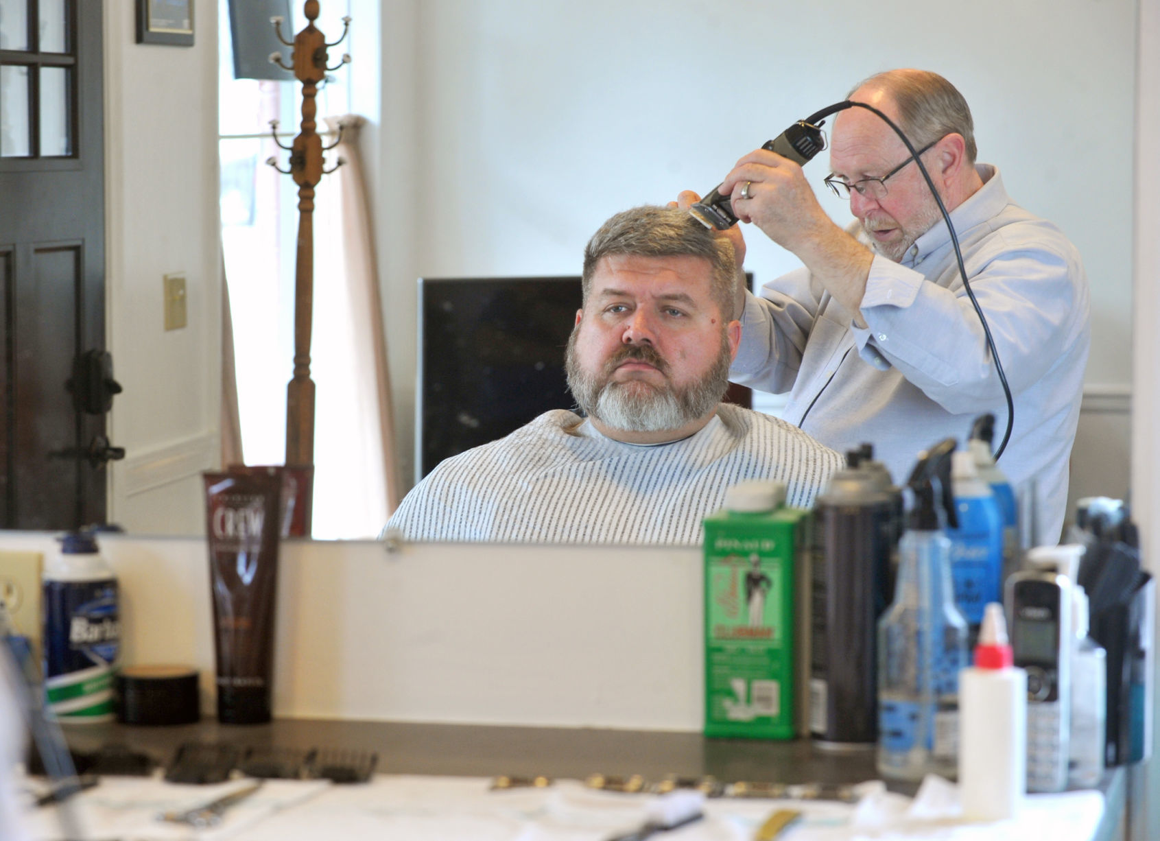Pifkin has been cutting hair for four generations