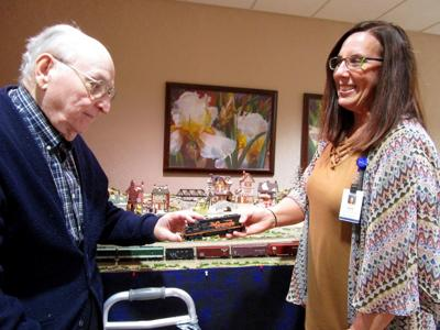 Geneseo long-term care resident shares train lore