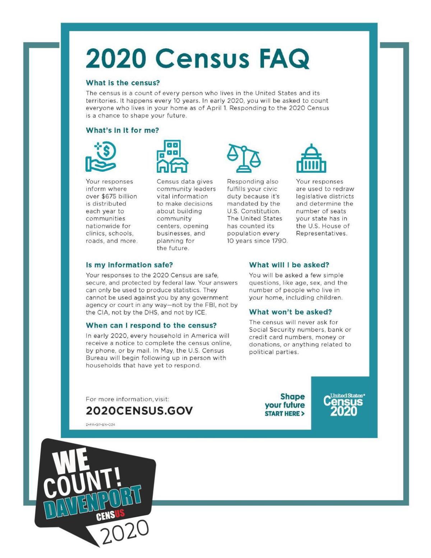 Census FAQs