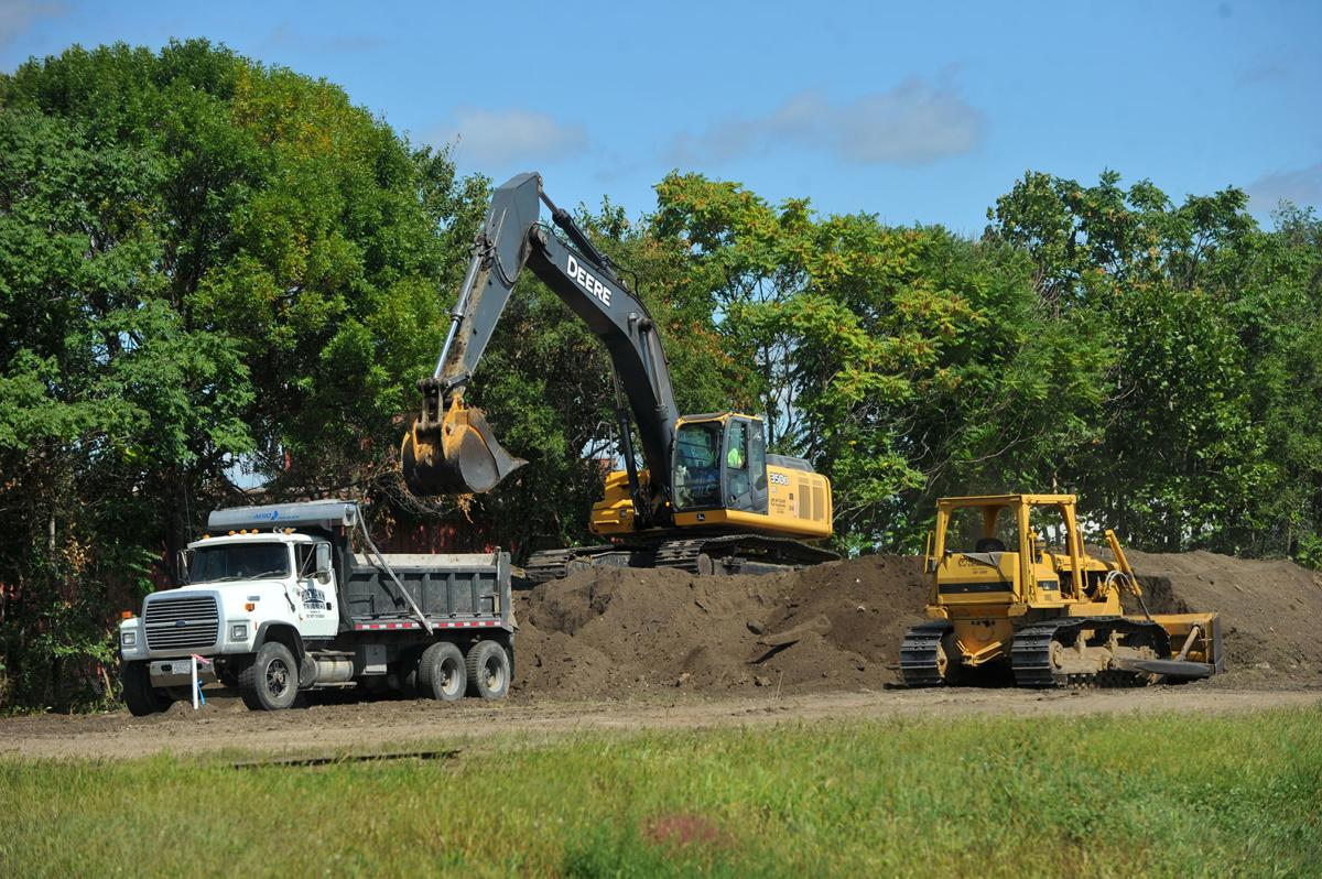 Site development for building of a new Scott County Family Y.