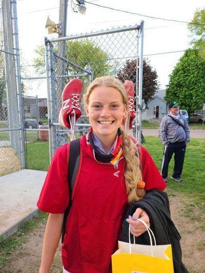 Campbell Kelley, Rock Island junior softball player (mug)