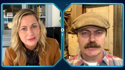 Leslie Knope & Ron Swanson Talk Social Distancing in 'Parks and Rec' Sneak Peek (VIDEO)