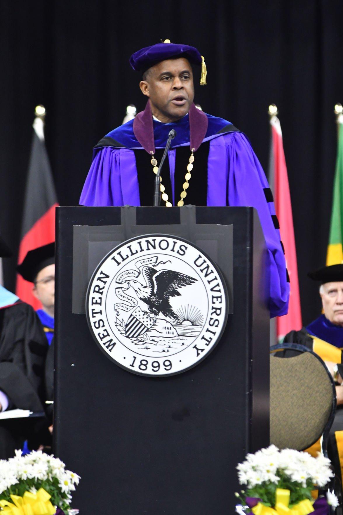 A3 MAIN Western Illinois University President