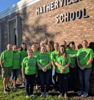 Teachers wear jeans to fund scholarships