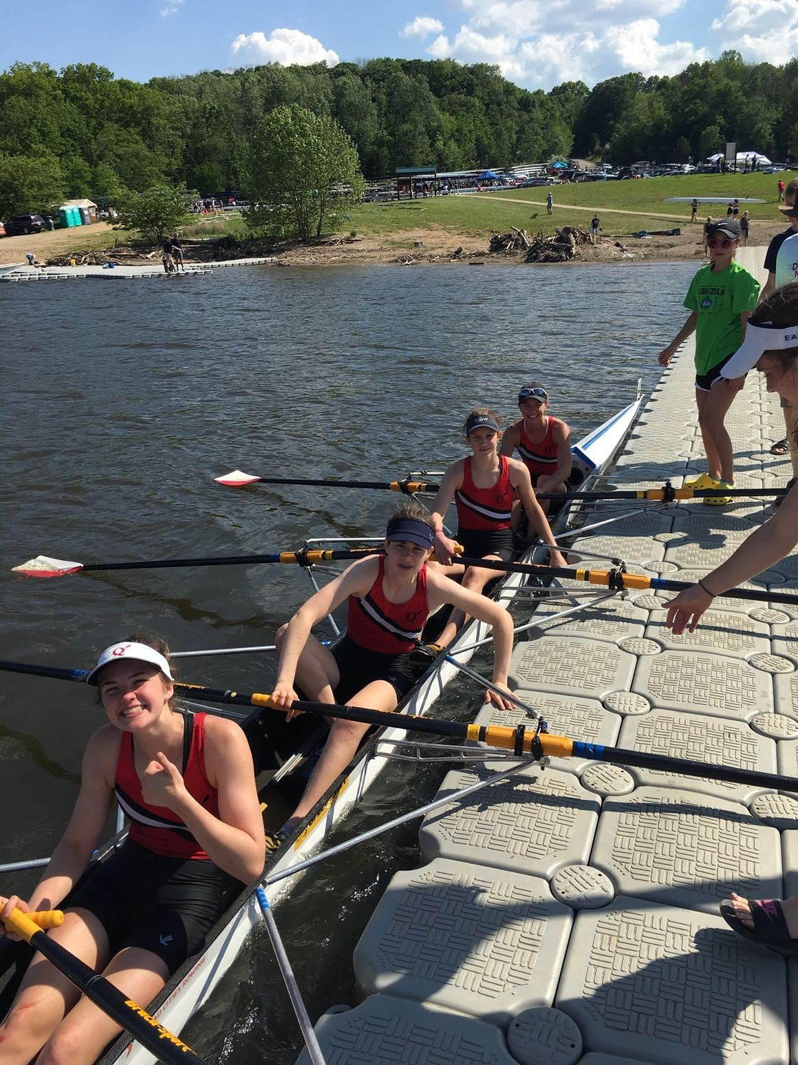On the water: Q-C program gathers rowing enthusiasts