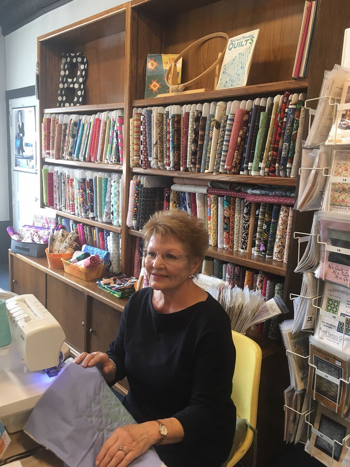 Trash to treasure: Moline shop buys and resells fabric