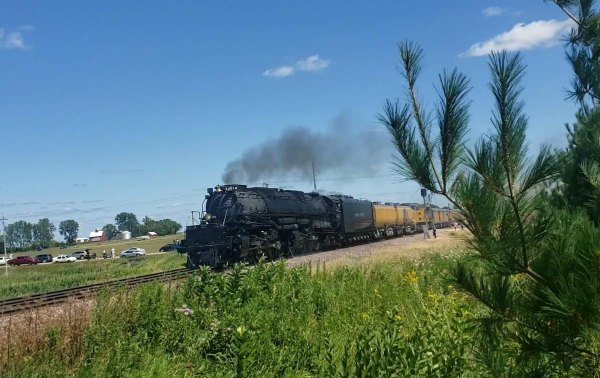 Union Pacific Big Boy rules the rails once again | Local