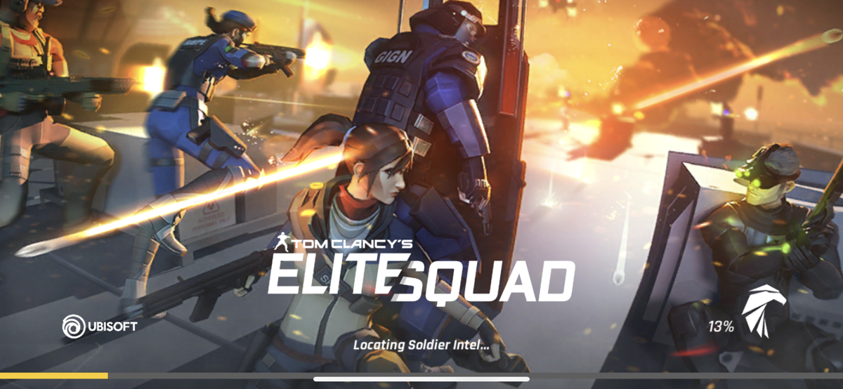 Tom Clancy's Elite Squad Loading Screen