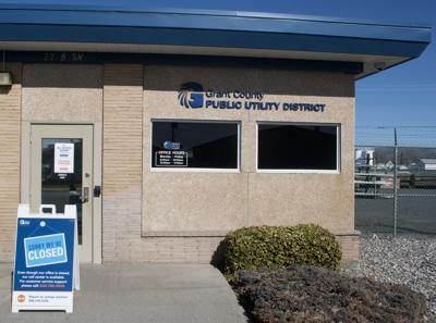 Grant PUD's Quincy office location is closed to the public