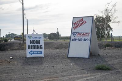 Hiring signs