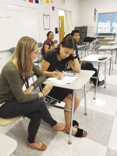 Staff helps Spanish-speaking students fit in
