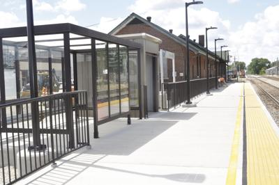Newly remodeled Rantoul train station opens
