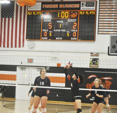 Bunnie volleyball heads to Ridgeview Thursday