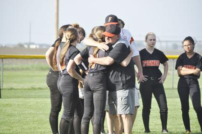 Bunnies softball team's season ends in 3-2 sectional loss
