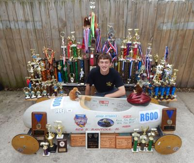 Local soap box derby driver wins third national title