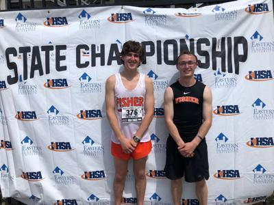 Chittick, Burk earn medals at state meet