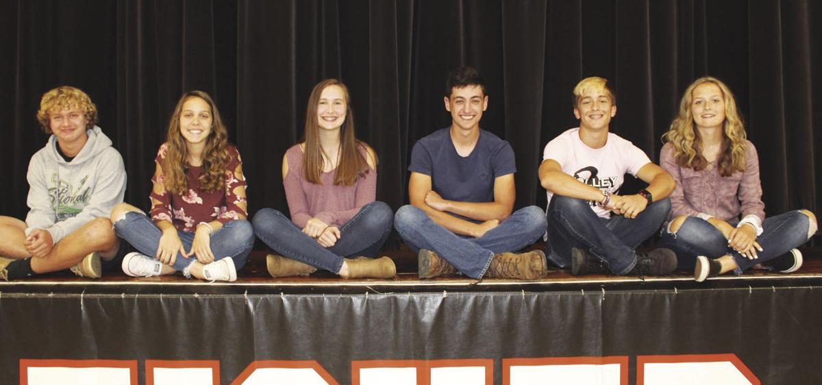 Fisher homecoming attendants 2019