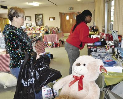Those in need helped with food, toys