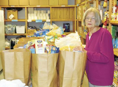 CSC food pantry March 25