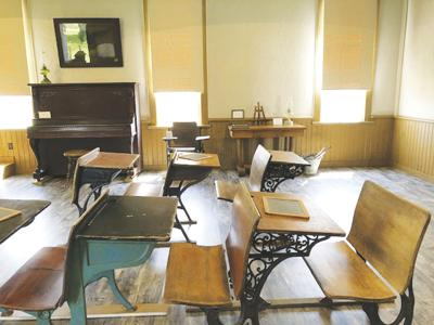 School days: Built in 1875, old school house to be open to public at farm show