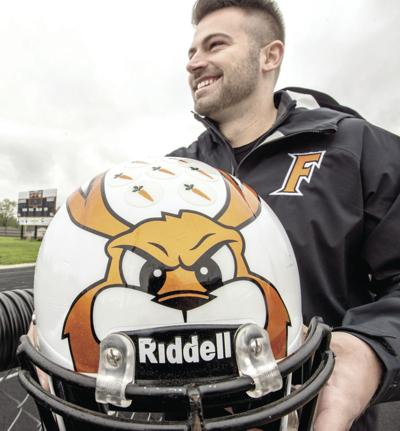 Fisher's football helmets judged most creative in Illinois
