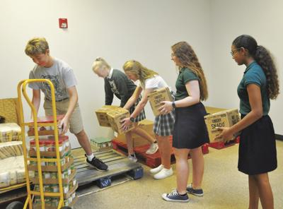 St. Mal helpers at CSC