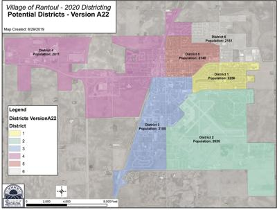 Proposed districts developed to vote in Rantoul Village Board election