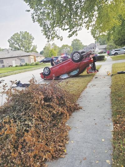 DUI charge filed after car rolls on residential street