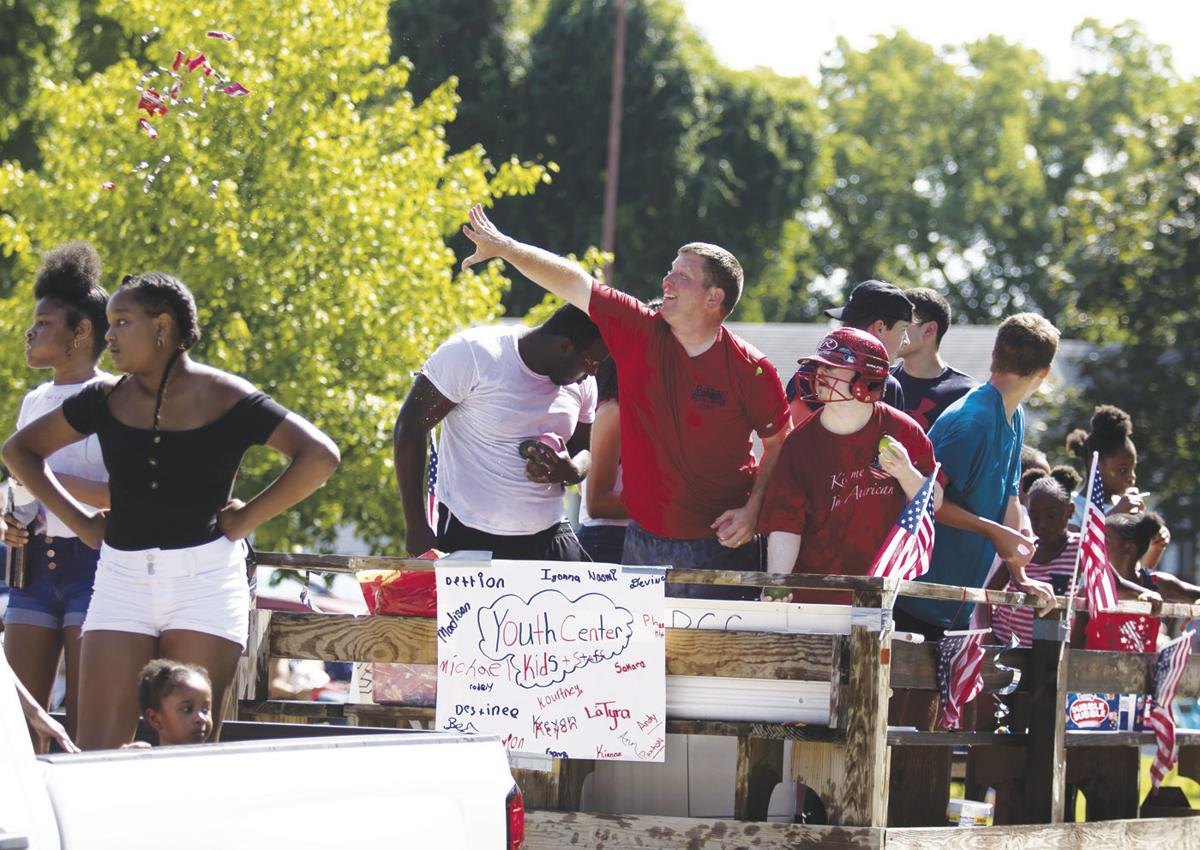 Youth group float