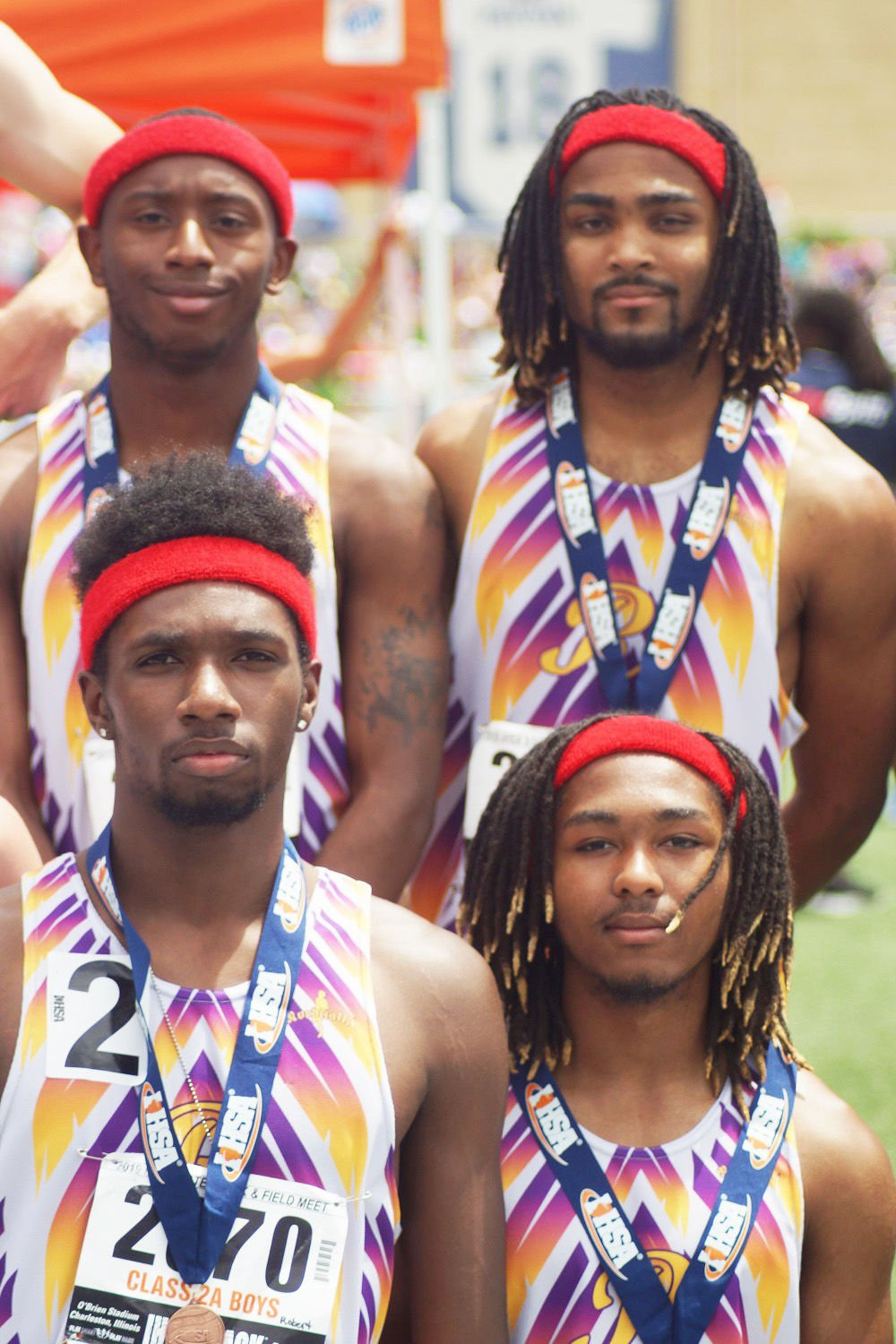 Rantoul's Harper and relay teams earn bronze medals at state