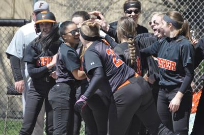 Fisher softball team wins big against Westville, Okaw Valley  in doubleheader on Saturday