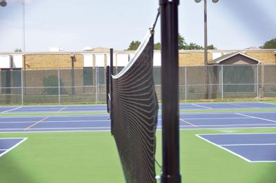 Order on the courts: New pickleball, tennis, volleyball courts finished