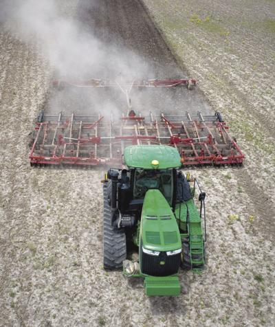 After heavy rains, farmers finally get most of their fields planted