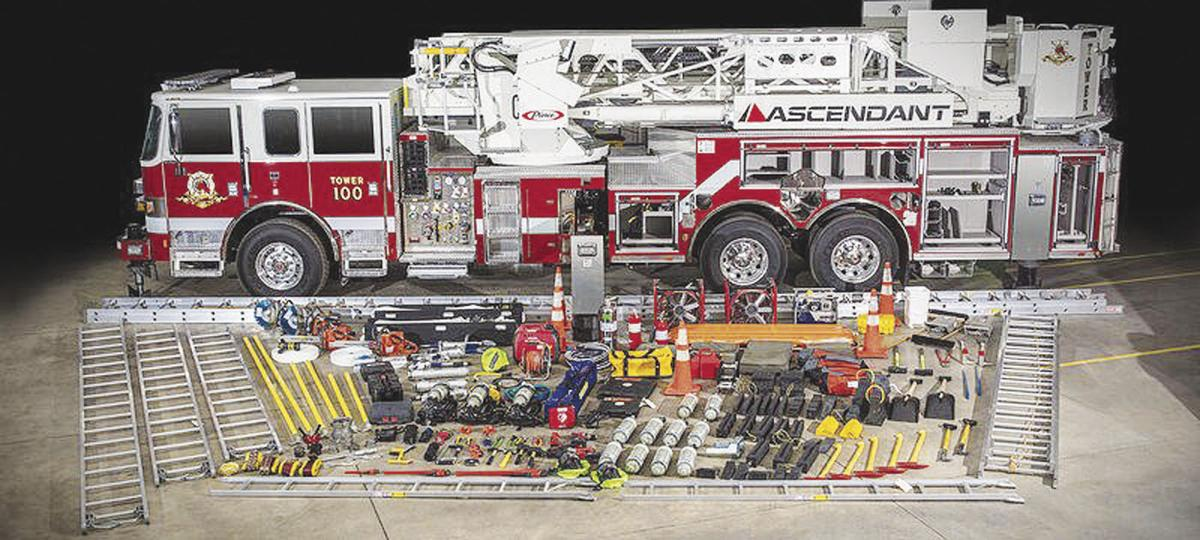 $1.287 million purchase: Rantoul board approves 100-foot fire department ladder truck