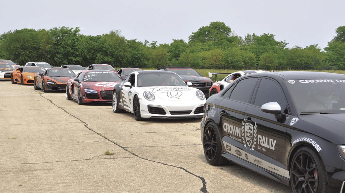 Just passin' through: Crown Rally brings $30 million worth of cars to town