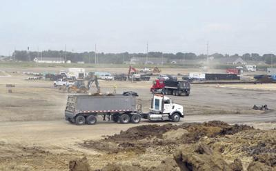 Construction ramping up at Rantoul Family Sports Complex