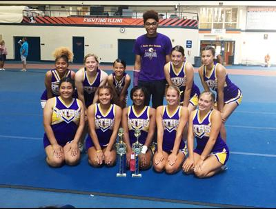 RTHS cheer competes at UCA camp