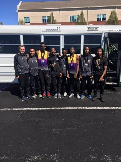 Eagles earn nine  medals at Winston Brown Invitational