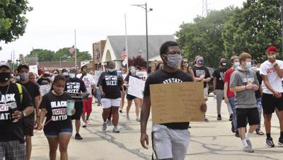 Rantoul BLM rally/march goes on peacefully
