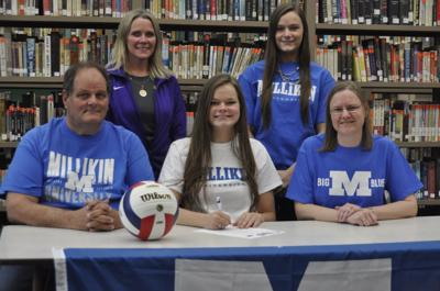 Armstrong's Porter to play college volleyball at Millikin
