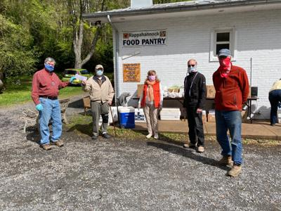Lions present Food Pantry check