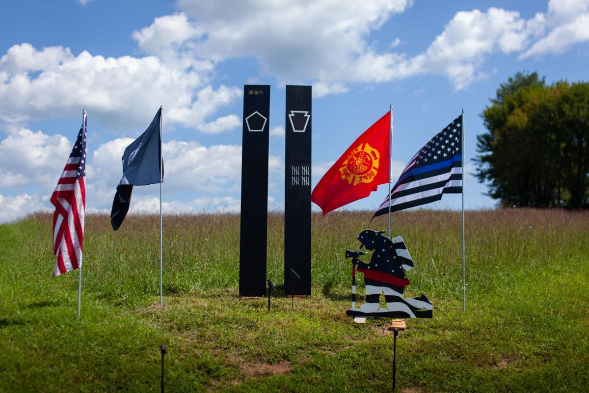 9-11 Sept 11 memorial in sperryville