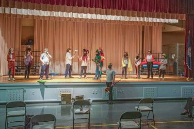 RAAC Theater Class -St George & the Dragon