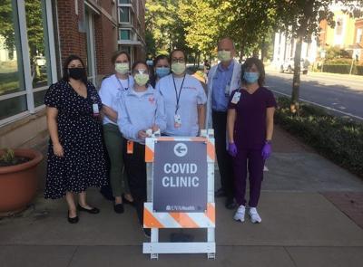 UVA Health covid clinic