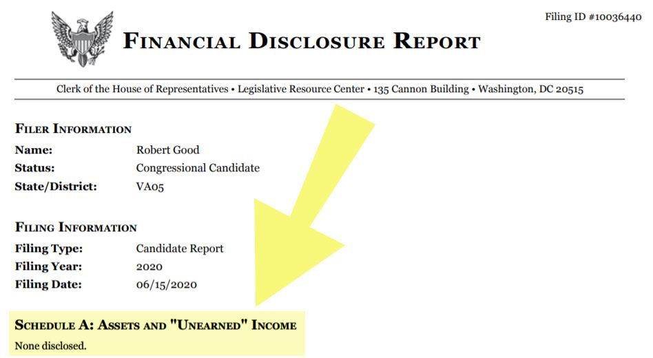 Good financial disclosure