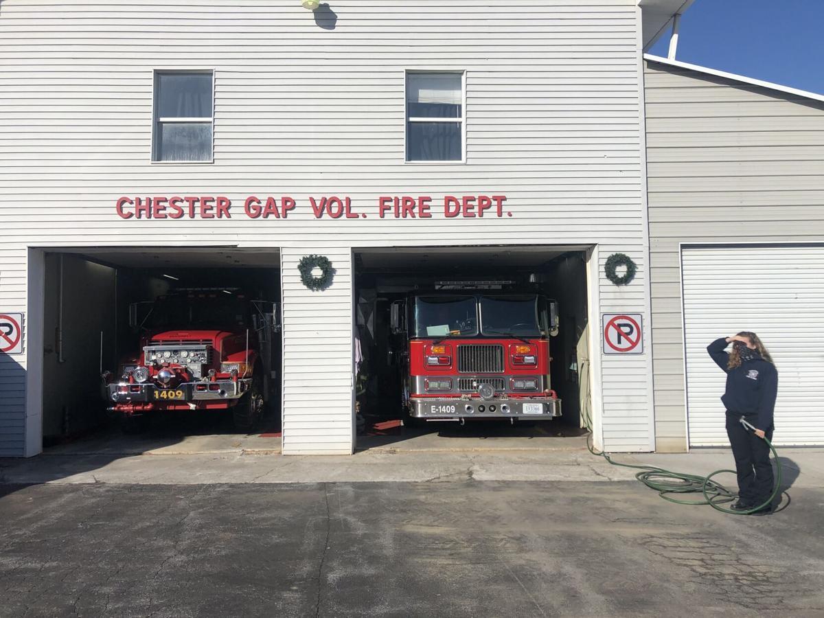 Chester Gap fire department