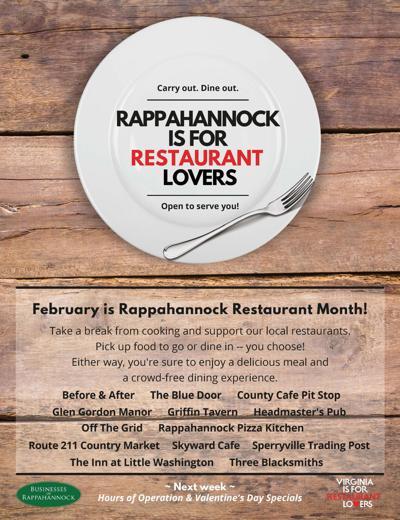 BOR restaurant month